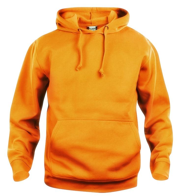 Neon orange sweatshirt