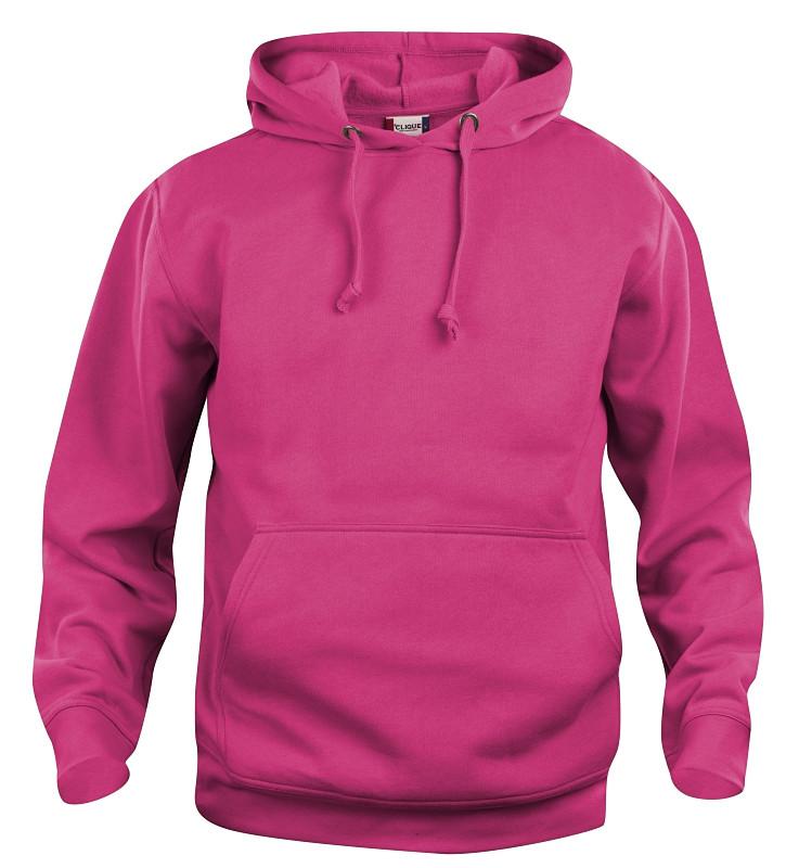 pink clique hoody