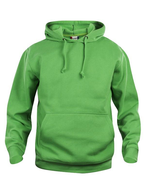 Grøn hættetrøje