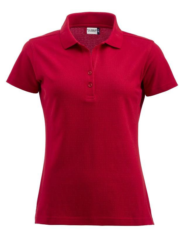 Alba - rød damepolo