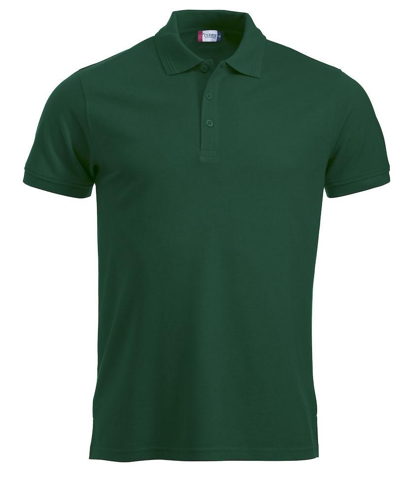 grøn herre polo