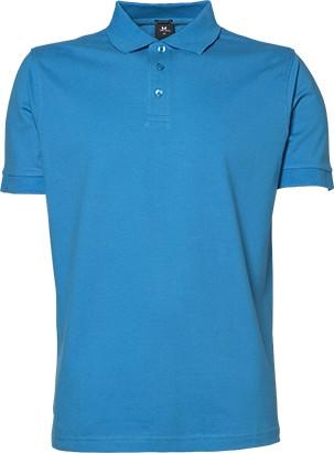 azure blå polo