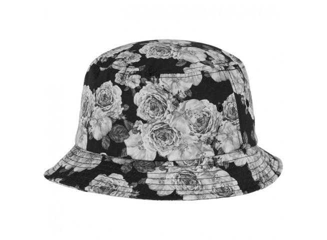 Flexfit bøllehat med grå roser