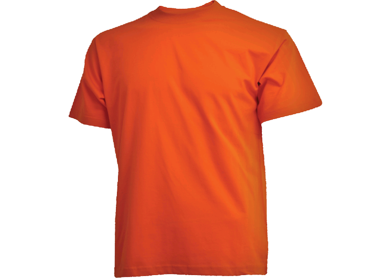 Orange Camus t-shirt