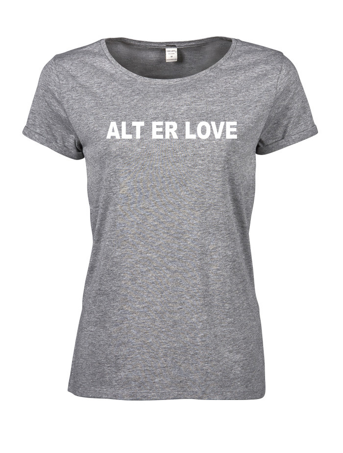alt er love t-shirt