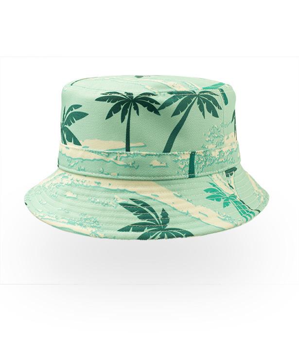 bøllehat med palmer