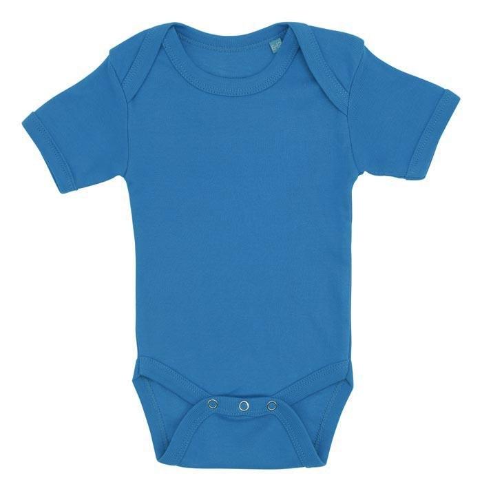 blå baby bodystocking
