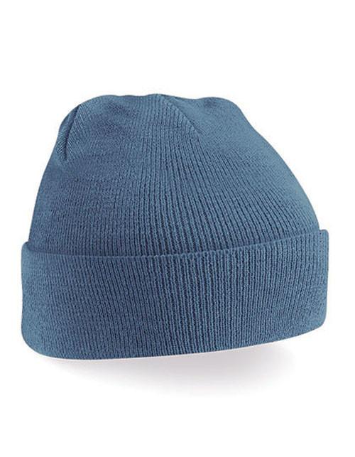 blå beanie