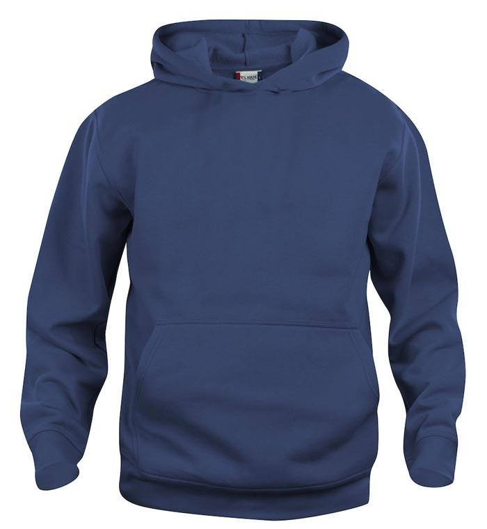 blå hoodie til børn