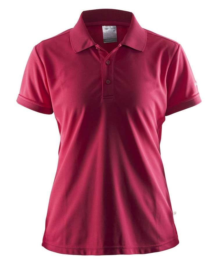pink dame polo