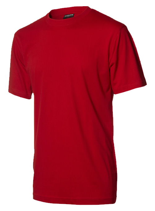 Rød T shirt basic