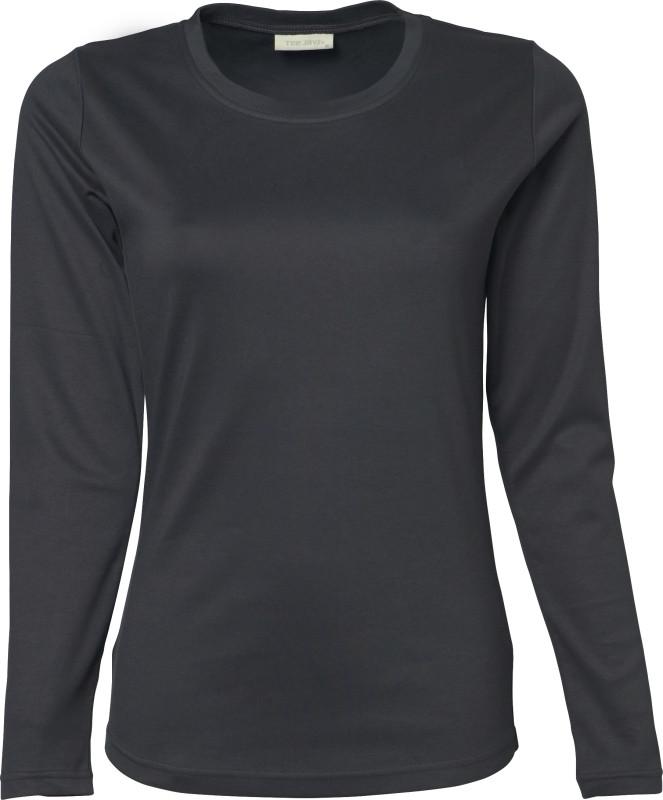 Mørkegrå langærmet trøje