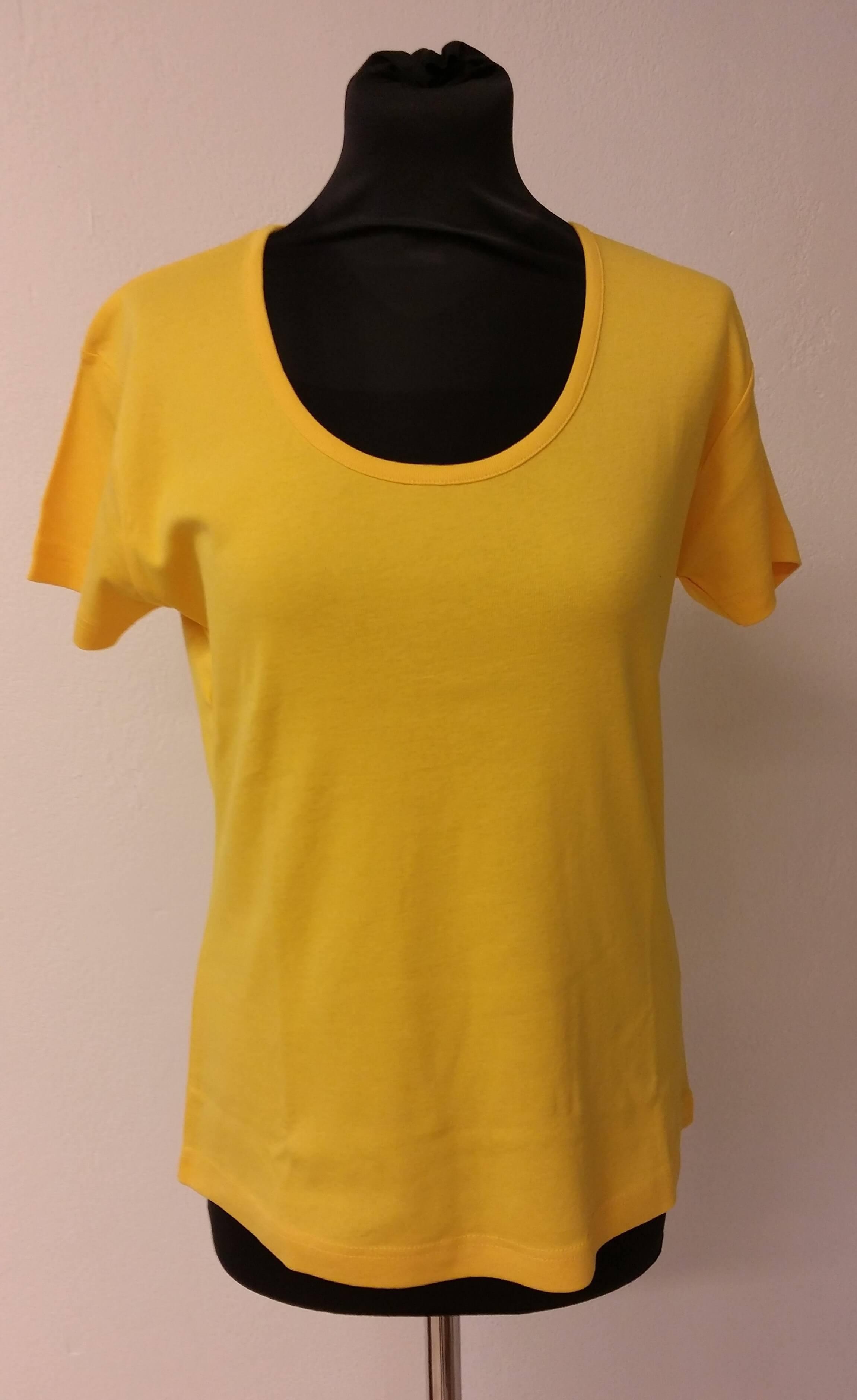 Tee Jays T-Shirt Med Stor Rund Halsudskæring - Dame.