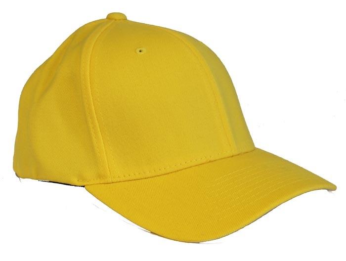gul flexfit kasket med rabat