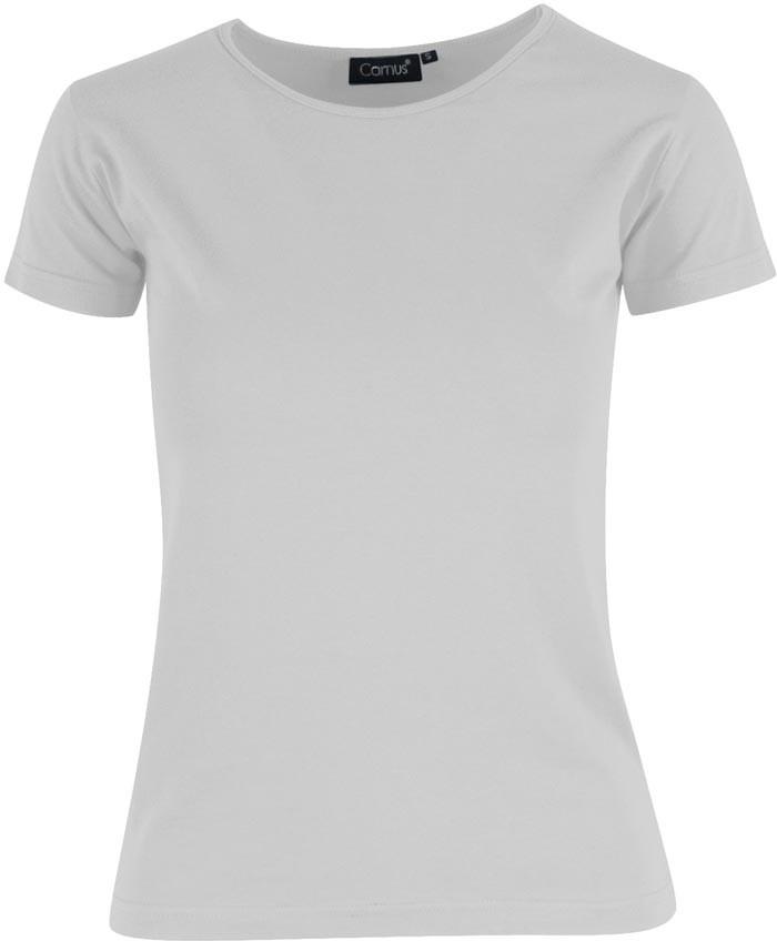 hvid dame t-shirt