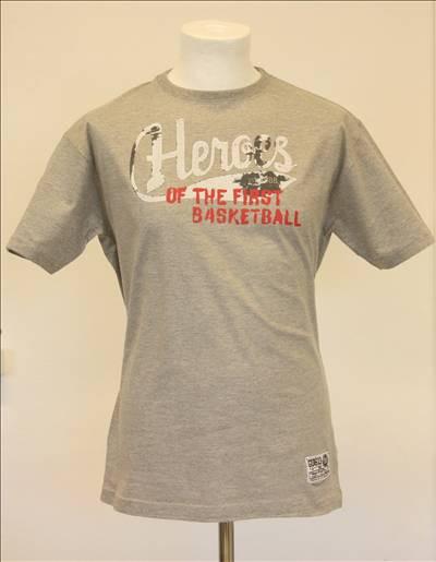 Original Hero T-shirt  i Grå med nummer bag.