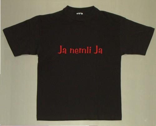 Ja nemli ja - t-shirt med tryk