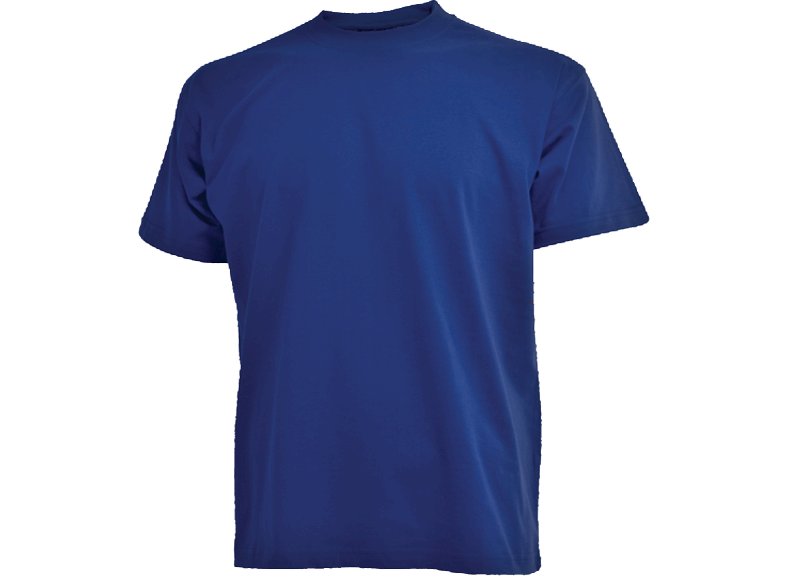 Kongeblå Camus t-shirt - Big size