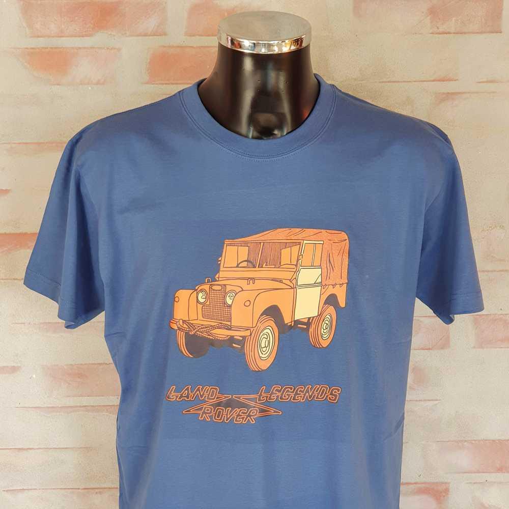 "Land Rover t-shirt Series I - 86"""