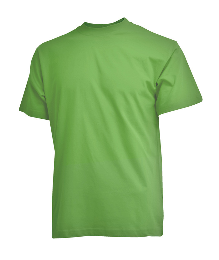 limegrøn t-shirt