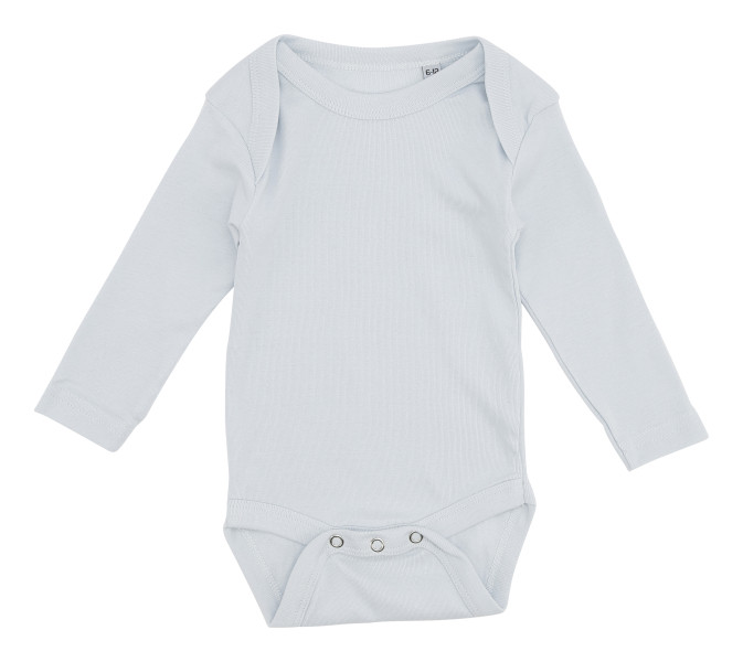 Baby Body LS - Lys Blå