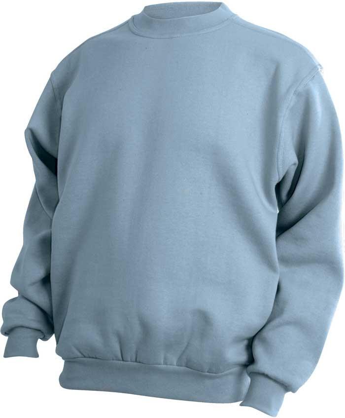 Lysblå sweatshirt