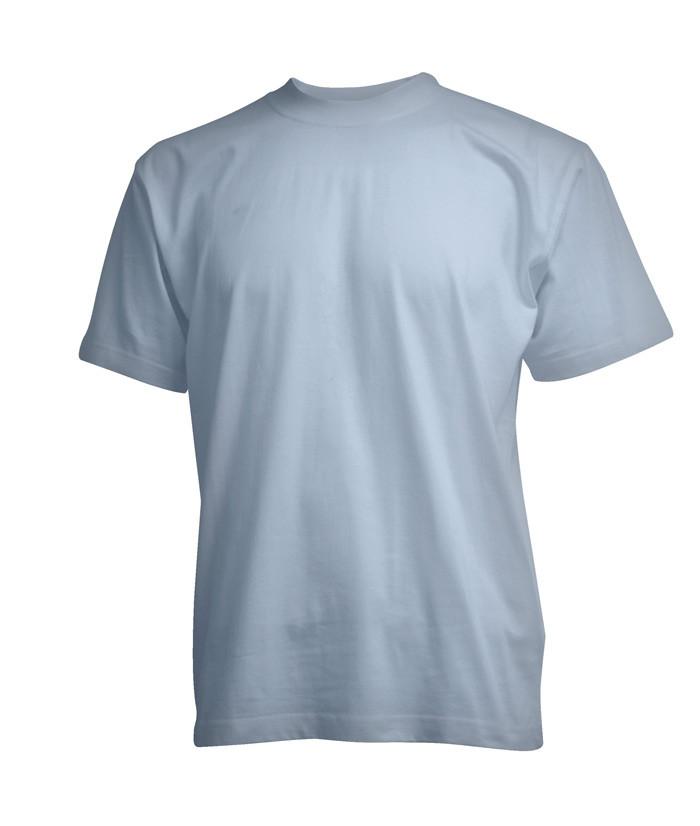 lysblå t-shirt