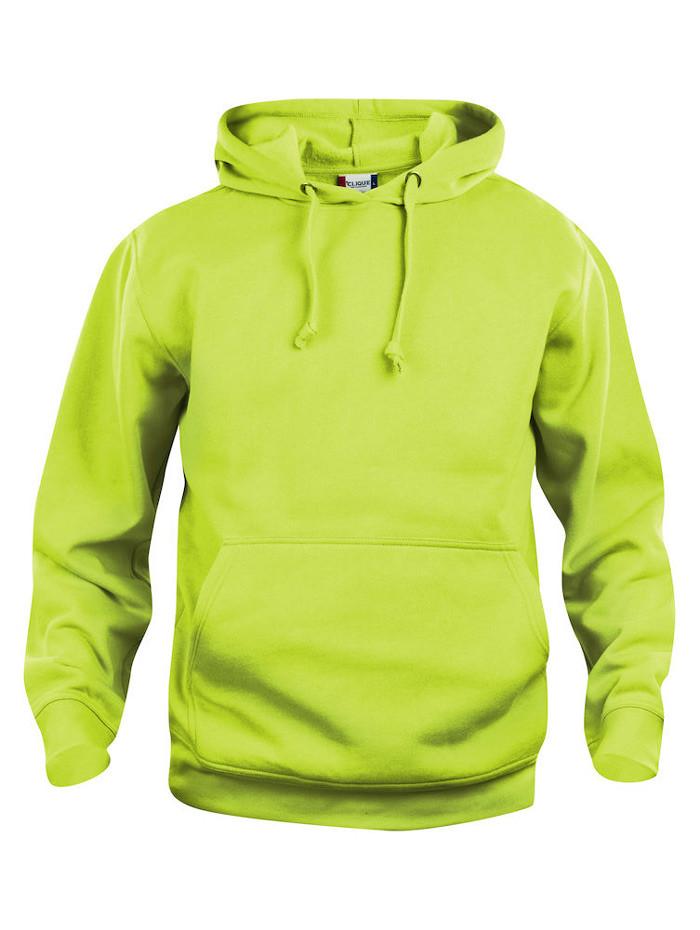 lysgrøn hoodie
