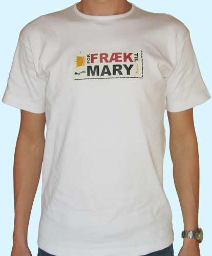For fræk til Mary