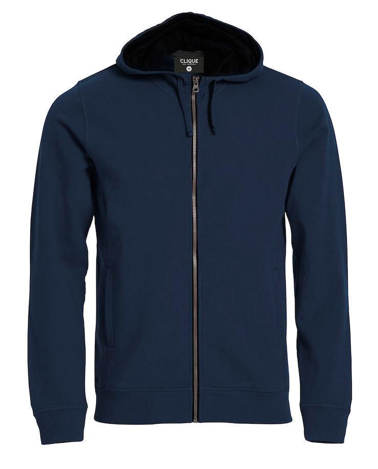 navy zip hoody