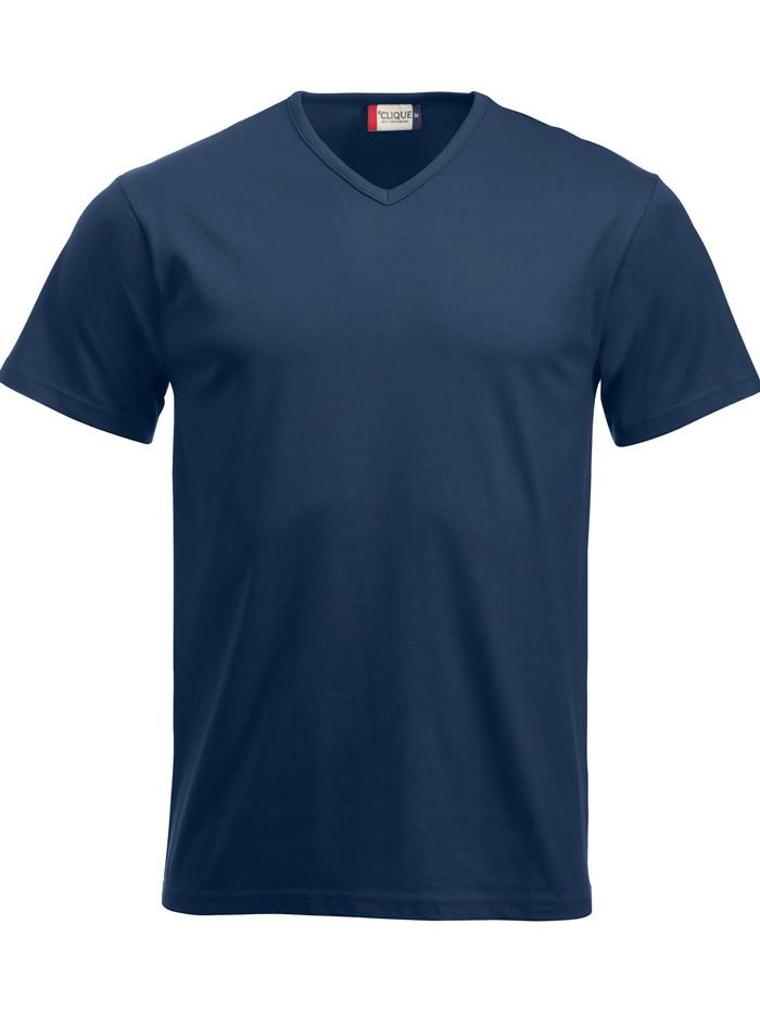 navy v-hals t-shirt