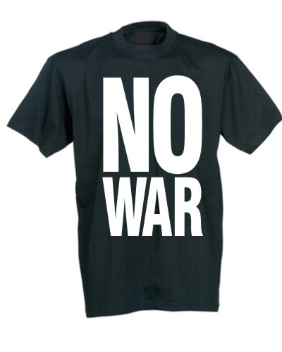 No War Statement T-shirt
