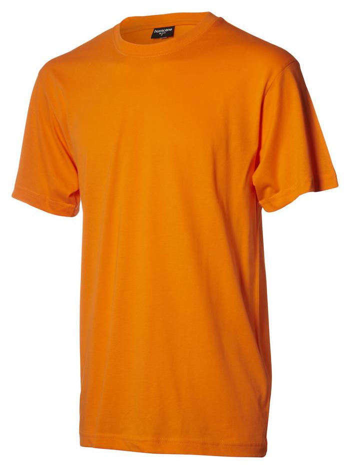 orange t-shirt til børn