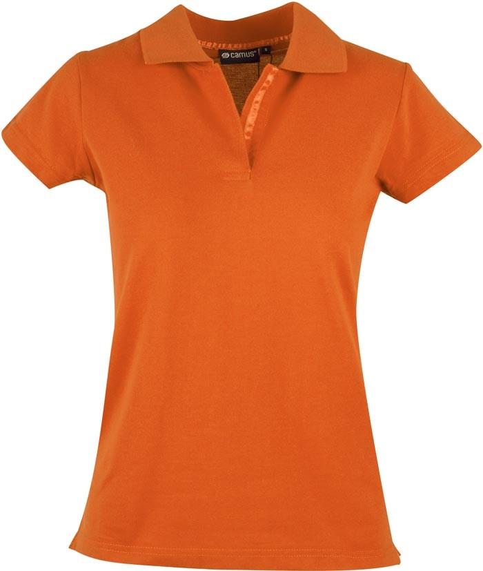 orange dame polo