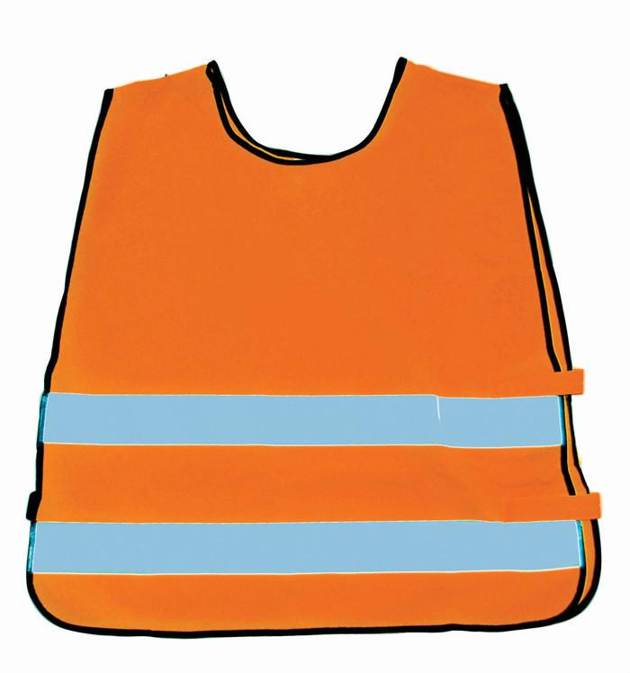 orange sikkerhedsvest til børn