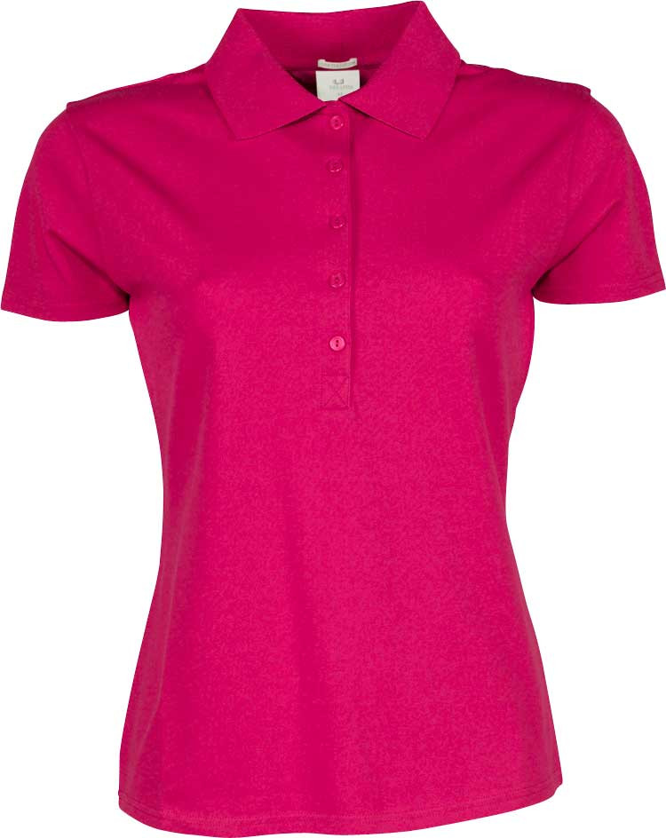 polo til dame i pink