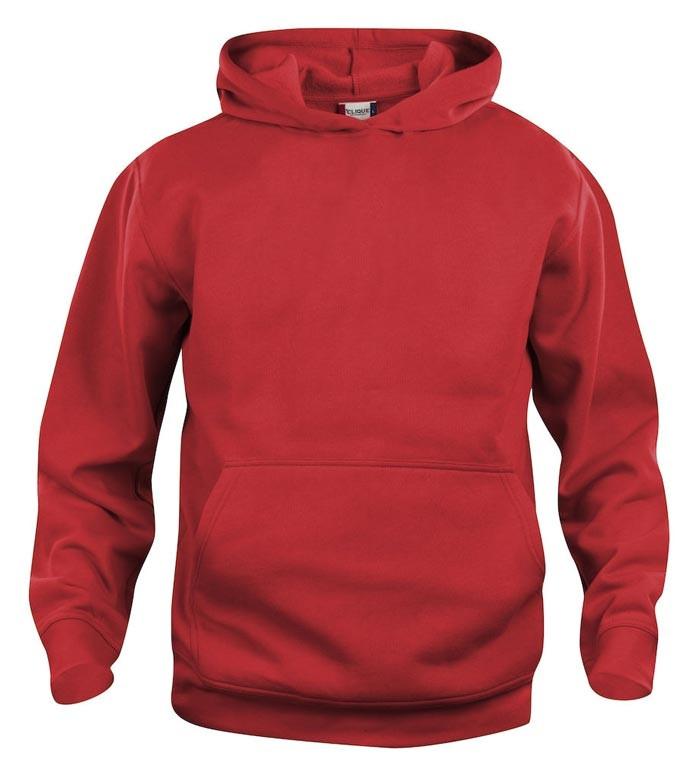 rød børne sweatshirt
