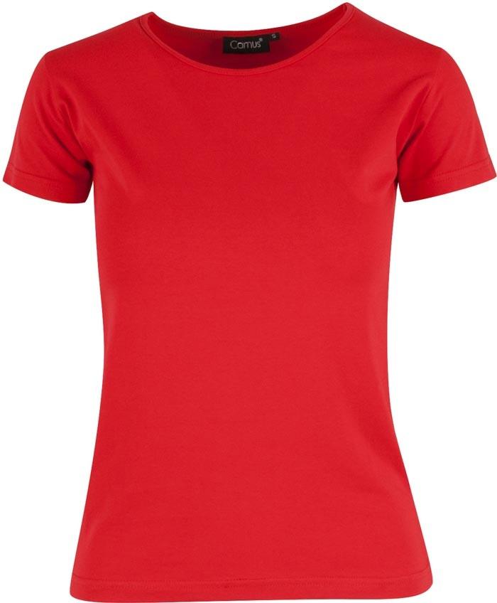 Rød Charlotte t shirt dame