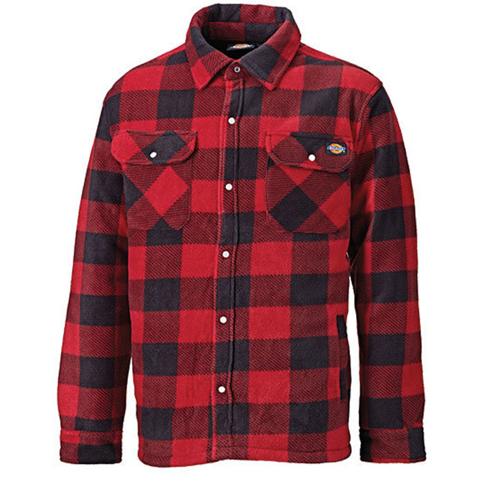 rød dickies jakke