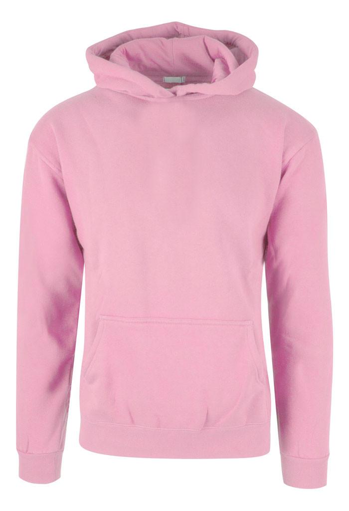 Rosa hoodie til børn