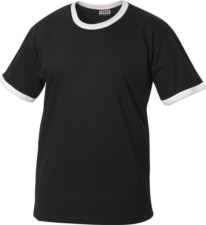 sort børne t-shirt