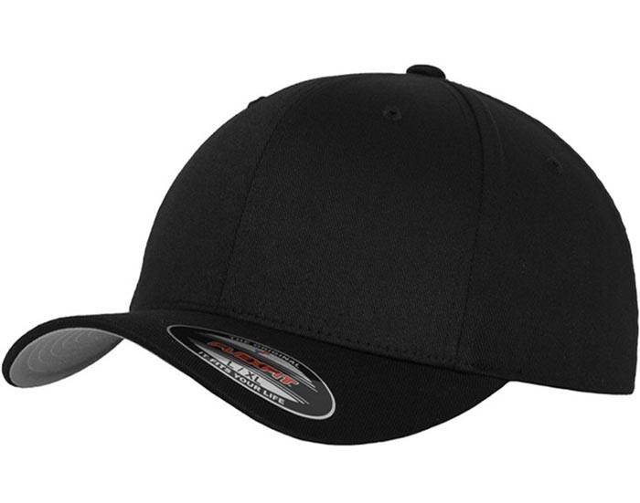 sort flexfit kasket