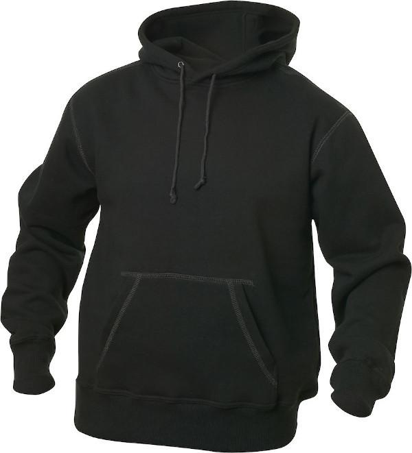 sort hættetrøje