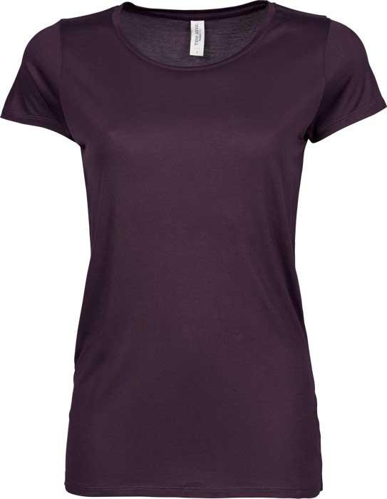 t-shirt i lila