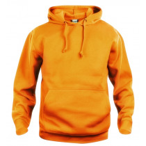 Neon orange sweatshirt