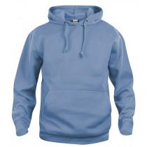 Hoodie hættesweatshirt blå - indigo