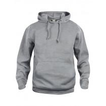 Grå hættetrøje - hoodie