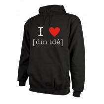 Design selv hoodie hættesweatshirt