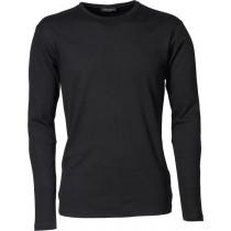 sort langærmet trøje