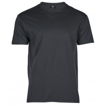 grå basic t-shirt